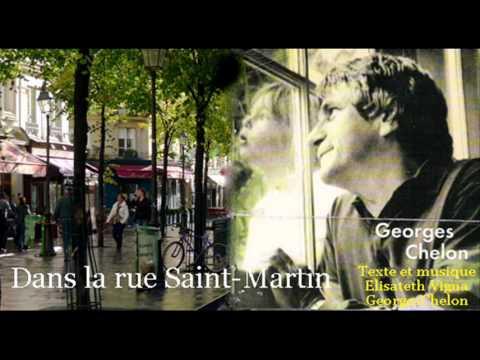 Georges Chelon - Dans la rue Saint-Martin