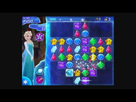 Disney Frozen Free Fall - Level 47 [Gameplay Walkthrough]