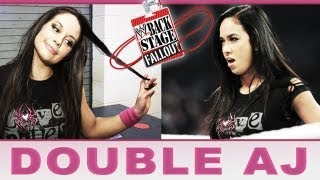 """Kaitlyn turns the tables on AJ - """"Backstage Fallout"""" SmackDown - June 28, 2013"""
