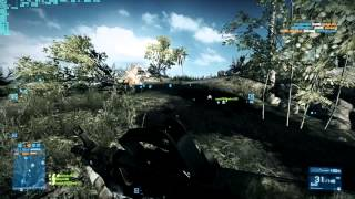 Battlefield 3 MSI 7950 OC Multiplayer Gameplay