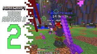 Minecraft Terra Restore 2 - EP02 - Fighting A Friend