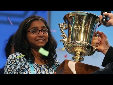 CNN anchors test spelling bee winner