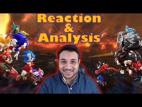 New Sonic Forces Introduction Trailer Reaction & Analysis (JP)