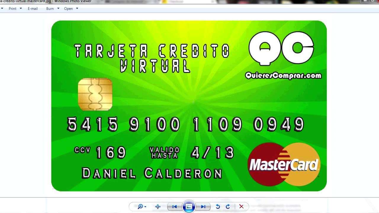 tarjeta de crédito Inglés sexo