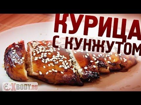 Фитнес рецепт Куриная грудка в духовке