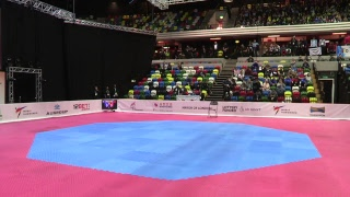 World Taekwondo GP London 2017 - Mat 3.- Session 1