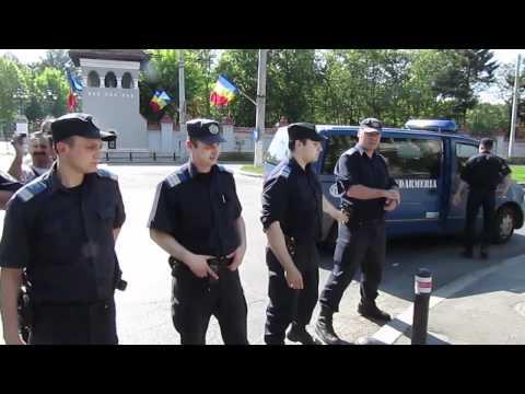 Abuzuri polițienești la București pe 1 mai