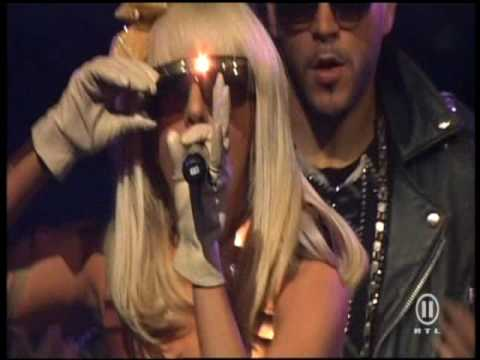 Lady GaGa  - Just Dance live at The Dome 49 Music Videos
