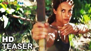 TOMB RAIDER Teaser Trailer (2018) Action Movie