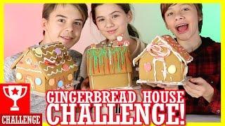 GINGERBREAD HOUSE DECORATING CHALLENGE!  | DIY CANDY KIT |  KITTIESMAMA