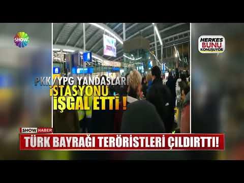 Türk Bayrağı teröristleri çıldırttı!