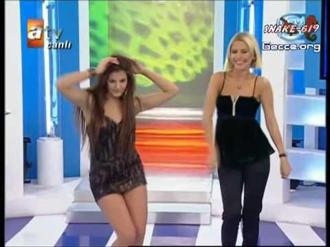 Miss Globe 2008  mavişeker dans yüksek kalite 720 piksel