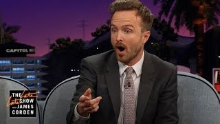 Aaron Paul Impulsively Bought 2 Pythons