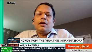 Primetime Debate: Vijay Chauthaiwale On The 'Howdy Modi' Houston Jamboree