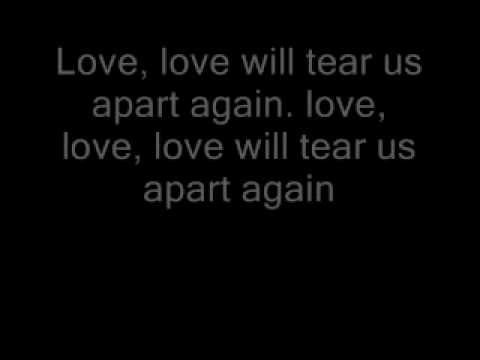 Joy division love will tear us apart lyrics