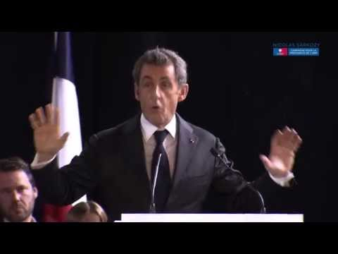 Discours de Nicolas Sarkozy à Saint-Cyr-sur-Loire