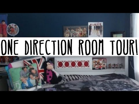 ONE DIRECTION ROOM TOUR 2013