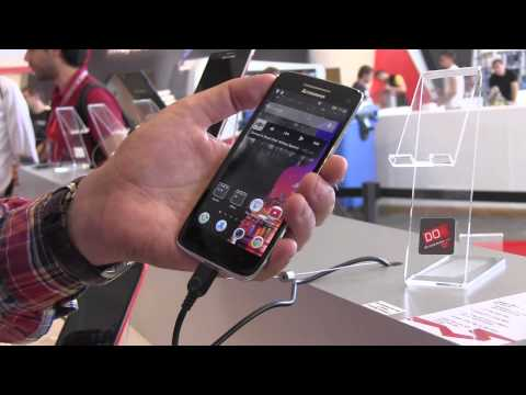 Lenovo Vibe X 5 Zoll Smartphone Hands On (Deutsch, German) IFA 2013