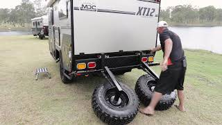 MDC XT12 & XT12DB CAMPER TRAILER SETUP INSTRUCTIONAL VIDEO