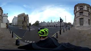Test footage from Insta 360 one X, on my way to work with Meepo V2P 90mm in London