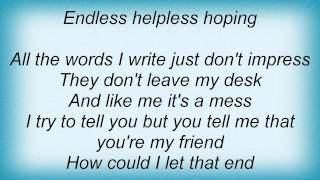 Watch Josh Gracin Endless Helpless Hoping video