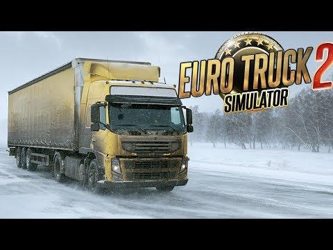 Снежный Путь - Дороги Севера - Euro Truck Simulator 2 Multiplayer