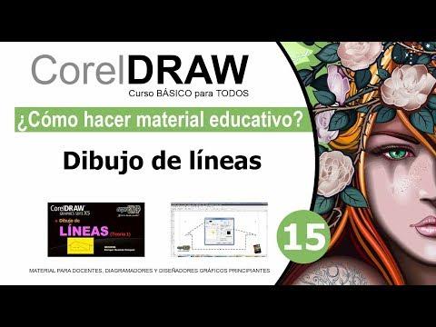 CorelDRAW X5 Básico 15 Dibujo de líneas