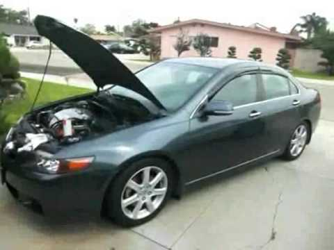 Acura  2005 on 2005 Acura Tsx Door Lock Actuator Replacement   Repair Hd 1080p Video