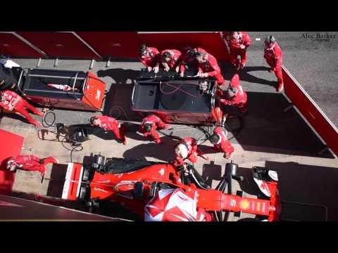Ferrari SF70H Car Prep and Engine Start Procedure