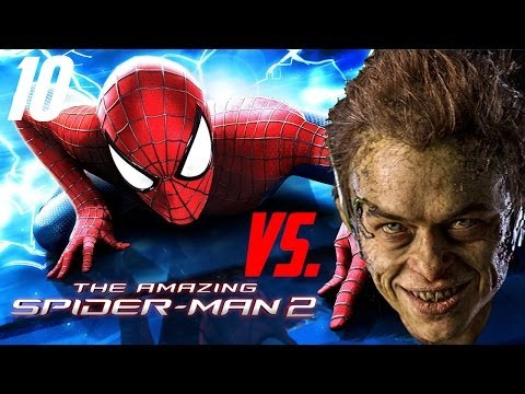 The Amazing Spider-man 2 - Ios android - Walkthrough let`s Play - #10 First Fight With Green Goblin video