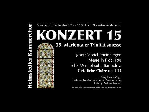 Феликс Мендельсон - Beati Mortui, Op. 115, No. 1