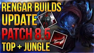 Rengar Builds Update Patch 8.5 Top + Jungle [League of Legends] [Deutsch / German]