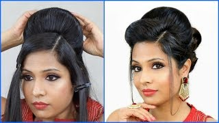 1 Bottle TRICK to create this Party Hairstyles in 2 MINS