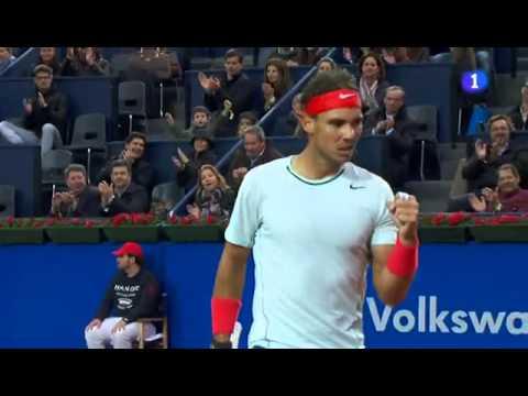 Barcelona Open: Rafael Nadal beats Milos Raonic 6-4 6-0
