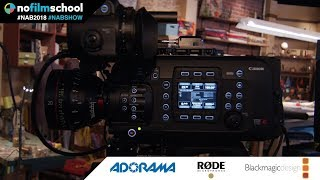 Get Up Close and Personal with Canon's C700 FF Cinema Camera