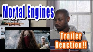 Mortal Engines Trailer REACTION | Official Teaser Trailer Peter Jackson Film