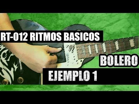 RT-012 BOLERO - RITMO 1
