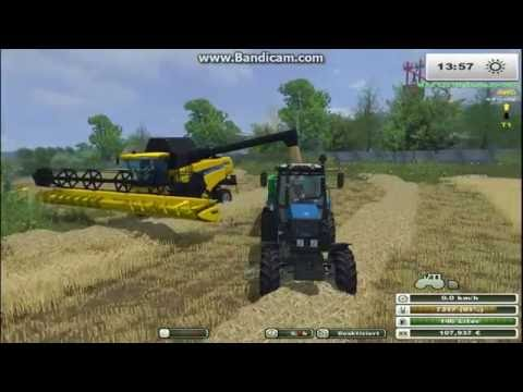 МТЗ 1221 и ПСТ 9 Farming Simulator 2013