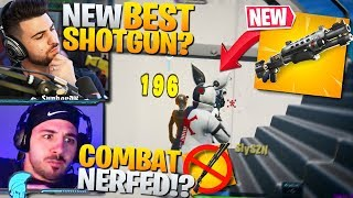 *NEW* GOLD TAC SHOTGUN! DOES THIS CHANGE THE META!? (Fortnite Battle Royale Gameplay)
