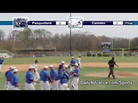 The Daily Advance sports highlights | Albemarle Easter Baseball Tournament — Pasquotank vs. Camden