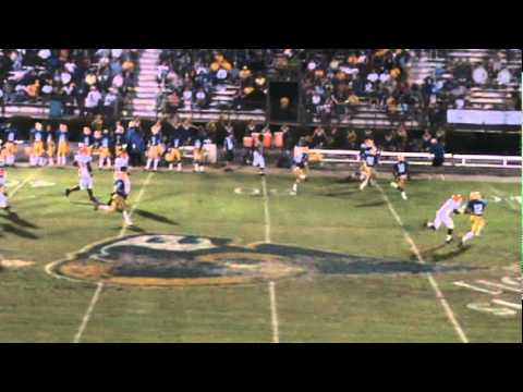 Brandon Hampton 2011 Football Highlights  Timmonsville High School # 4 A Back/DB