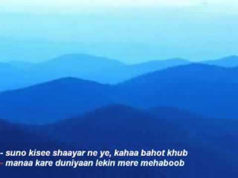 Pyar Diwana Hota Hai  Karaoke By Sameer Gehani video