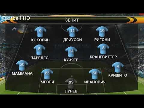 Зенит-Реал Сосьедад Обзор голов
