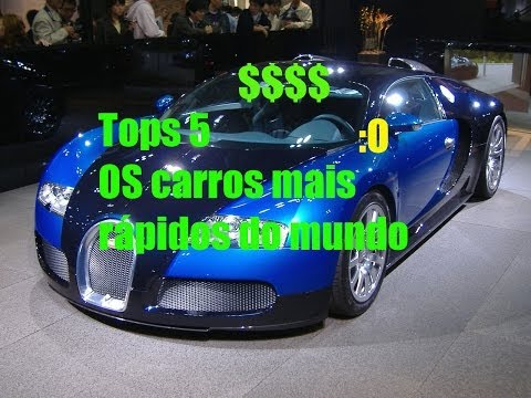 Os Carros mais Rápidos do Mundo 2014 Top 5