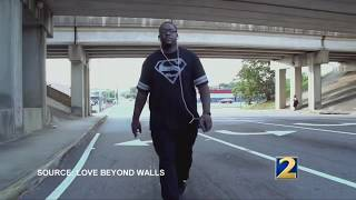 Love Beyond Walls founder walks from Atlanta to Memphis