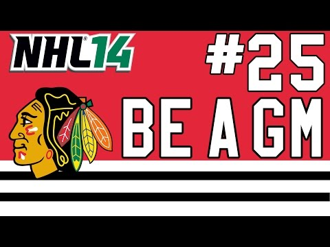 "NHL 14: Be a GM Chicago Blackhawks Ep. 25 - ""Stanley Cup Finals"""