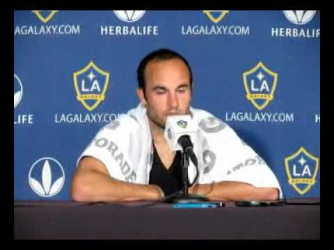 Landon Donovan on tying MLS scoring record