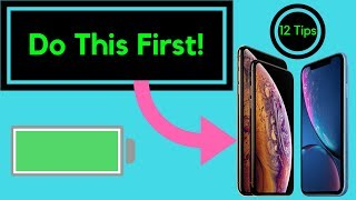iPhone X/XR/XS - First 12 Things To Do!