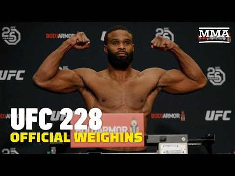UFC 228 Official Weigh-in Highlights - MMA Fighting