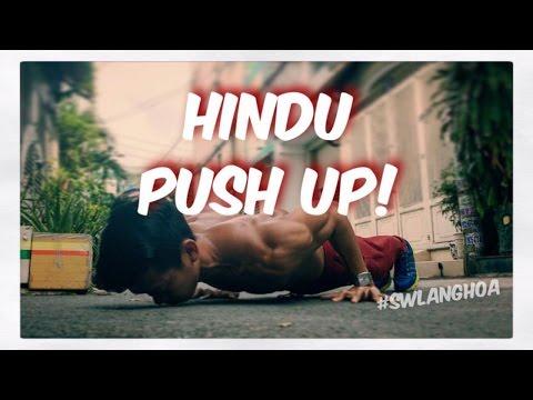 Tập vai TẠI NHÀ hiệu quả - Hindu Push up Tutorial - Street Workout Làng Hoa